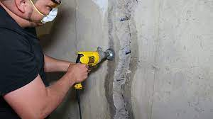 fixing a leaking basement wall
