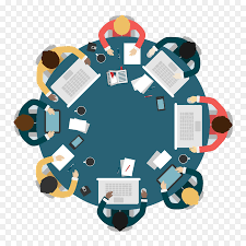 round table meeting business who are meeting
