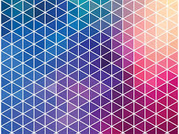Neon Pattern Backgrounds Blue Pattern Red Templates Free Ppt