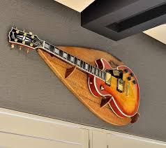 designer guitar wall hanger fine art
