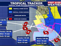 Tropical Storm Watches and Warnings are ...