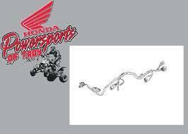 00 honda recon 250 wire harness electrical wiring trx250 2x4 ebay Honda ATV Wiring Diagram new genuine oem 97 98 99 00 honda trx 250 recon main wire harness 32100