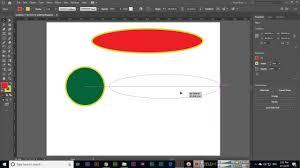 Ellipse Tool Adobe Illustrator Cc 2019 Adobe Illustrator