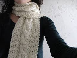 Cable Knit Scarf Pattern Awesome Cozy And Stylish Cable Knit Scarf Cottageartcreations