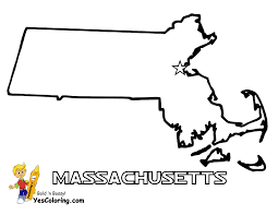 Massachusetts Map To Print Out At