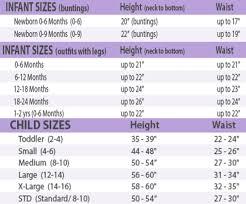 5 Rubies Pet Size Chart Rubies Costume Size Chart Toddler