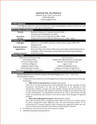Fresher Resume Format For Bcom Starengineering It In Word 10