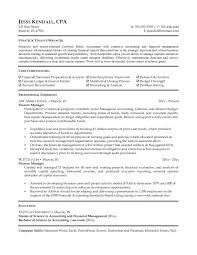 Finance Manager Resume Sample Gallery Of Finance Resume Examples 55