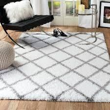 plush area rugs for living room. Plush Area Rugs For Living Room Supreme Shag Diamond White Gray Rug 1