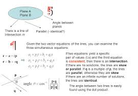 parallel planes equations. 5 1 plane a b angle between planes there is line of parallel equations