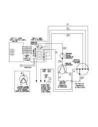 Wiring diagram ac unit new kenmore air conditioner parts model best of pressor capacitor