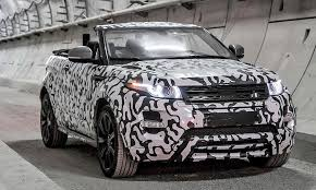 land rover defender 2018 spy shots. wonderful defender a spy shot hints at the range rover evoque convertible on sale late this  year in land rover defender 2018 shots o
