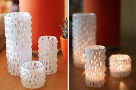 diy elegant candle holders