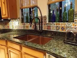 Tile Backsplash Photos Unique Mexican Tile Backsplash Designs Amberyin Decors Good Mexican