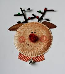 Christmas Bell Craft Using Paper Plates  CRAFT HOUSE CHRISTMAS Christmas Crafts Using Paper Plates