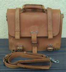 details about saddleback leather large classic briefcase bag papyrus logo key fob