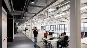 Natural office lighting Lighting Lamps Project Team Luxboutique Berghaus Head Office Nulty Lighting Design Consultants