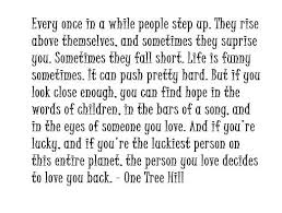 One Tree Hill Quotes About Friendship Awesome One Tree Hill Love Quotes Love Quotes Lovely Quotes For Friendss On