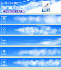 Cloud Photoshop Brushes 5 Photoshop Brushes For Painting Clouds By Pixelstains On Deviantart