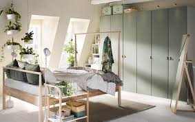 ikea bedroom furniture. A Beige Green And Grey Bedroom With Wardrobes Across The Back Wall Furniture Ideas Ikea Increase 5
