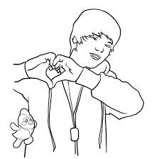 Small Picture Fancy Justin Bieber Coloring Pages To Print 24 mosatt
