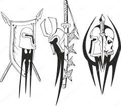 крестоносцы тату эскизы татуировок шлем тату эскизы тевтонского