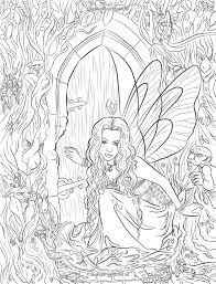 Small Picture 246 best Coloring Pages Fairies images on Pinterest Coloring