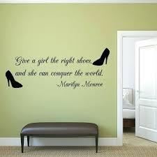 dorm wall decals plus right shoe e wall decal cute dorm wall decals ren