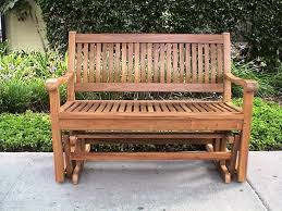 glider outdoor benches home depot