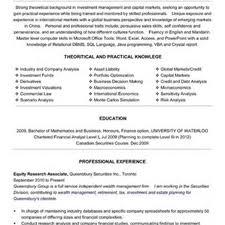 100 Resume Cv Docx Sample Good Objectives Samples 19