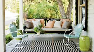 Cozy swing chairs garden ideas Porch Swings Southern Living Sit Spell 10 Peaceful Porch Swings