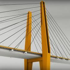 Suspension Bridge Model Design Suspended Bridge Pack Collection Bridge Suspended
