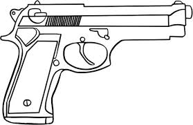 Nerf Gun Coloring Pages Fresh 28 Collection Of Printable Gun
