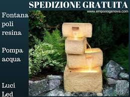Cascate Da Giardino In Pietra Prezzi : Fontane da giardino offerte fontanelle per il