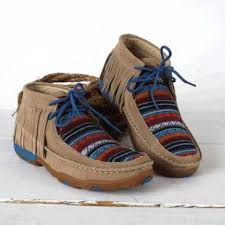 Twisted X Width Chart Twisted X Serape Moc With Fringe Shoes Western Shoes