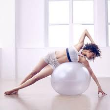 Free Exercise Ball Chart Total Body Exercise Ball Workout With Just 6 Moves Shape