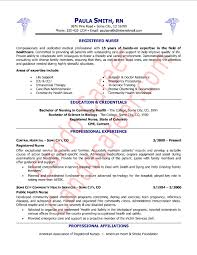 Registered Nurse Resume Template Resume Templates