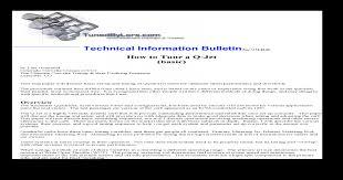 Quadrajet Carburetor Tuning Pdf Document