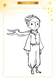 Coloriage Le Petit Prince Le Petit Prince Petite Princesse Et