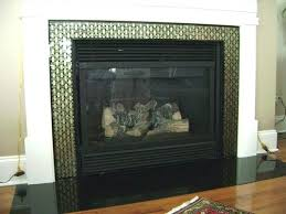 glass tile fireplace surround artistic mosaic and fused tiles to cover a regarding modern home prepare black