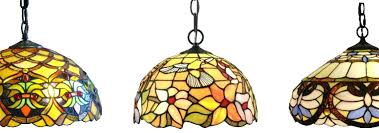 stained glass hanging lamp ceiling