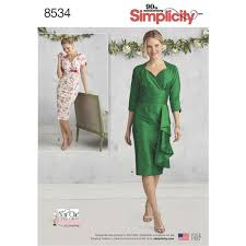 Simplicity Pattern Custom Simplicity Misses' Dresses 48 The Fold Line