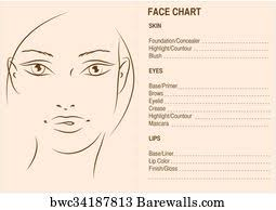 Face Charts To Print 9 Facechart Posters And Art Prints Barewalls