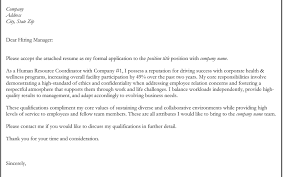 Excellent Resume Cover Letter Dear Hiring Manager Ideas Example