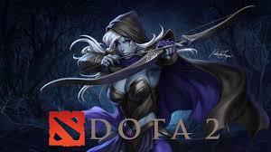 doa 2 logo drow ranger 1600 900 wallpaper hd dota 2 download fo free