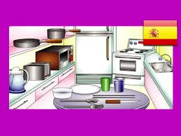 in the kitchen spanish lesson 15 espanol learning food words