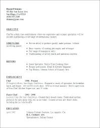 Cook Resume Examples Unique Sample Chef Resume Sous Chef Resume Template Chef Resume Example