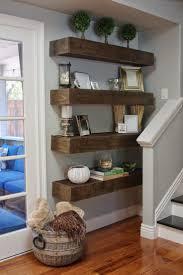 Simple DIY: Floating Shelves Tutorial + Decor Ideas. Laundry Room ...