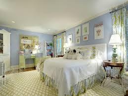 Blue white bedroom   Interior Design Ideas.
