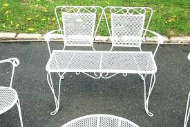 1950s patio furniture metal patio chairs ideas used wrought iron table and furniture round vintage outdoor 1950s patio furniture